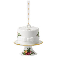 Royal Albert Cake Hanging Ornament