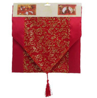 Red Glitter Table Runner - 142cm