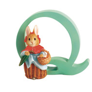 Beatrix Potter Classic - Letter Q Mrs Rabbit Figurine