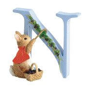 Beatrix Potter Classic - Letter N Cotton Tail Figurine