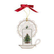 Spode Christmas Tree Candle Ornament