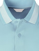 Polo shirts of Skyblue color Short Sleeves-Unisex