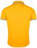 Short Sleeve Dri Fit Collar 2 line Point Polo Shirt-Unisex
