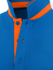 light blue-collar detail