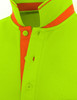 light green-collar detail