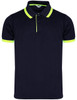 Short Sleeve Fluorescent Color Pique Polo Shirt-Unisex