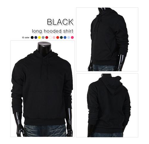 hoodie pull-over black color hoodie t-shirt
