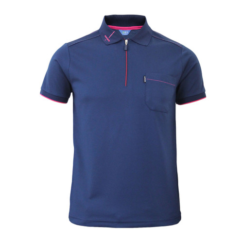 Coolon Stitch Polo t-shirt, short sleeve-dark_navy