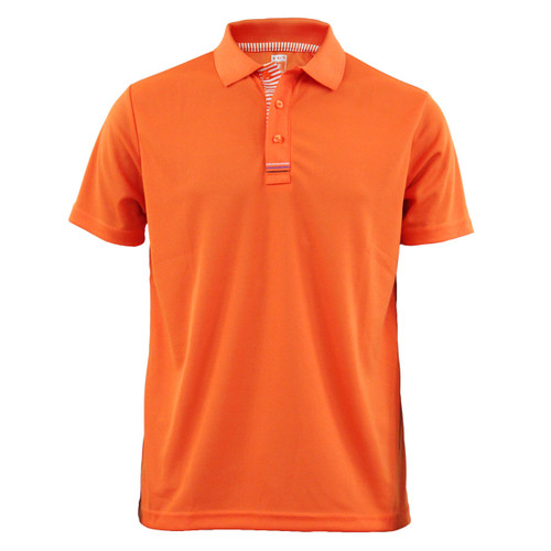 Coolon multi-PK Polo t-shirt, short sleeve-orange