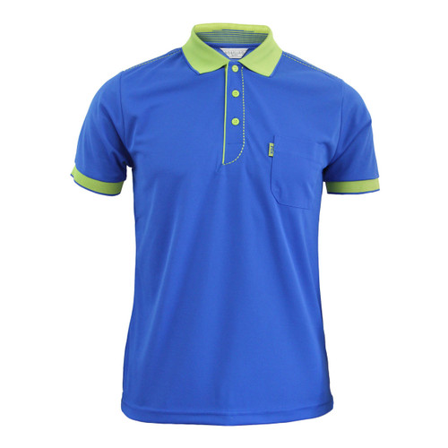 Coolon ATB-UV+ PK Polo t-shirt, short sleeve-cobalt