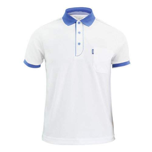 Coolon ATB-UV+ PK Polo t-shirt, short sleeve-white