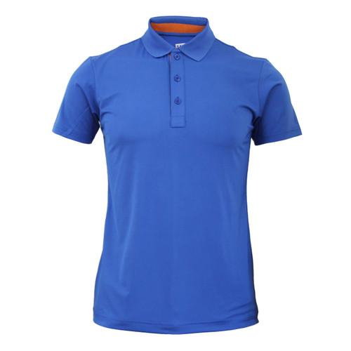 Coolon Spandex polo neck t-shirt_blue