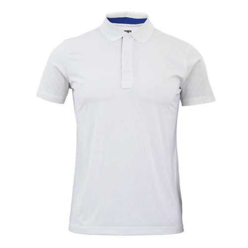 Coolon Spandex polo neck t-shirt_white