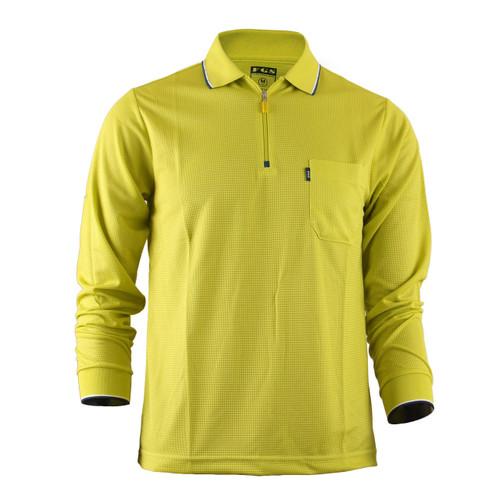 Men's Zip Polo Shirt Plain Zip Polo Shirt Long Sleeves Zip Polo shirt