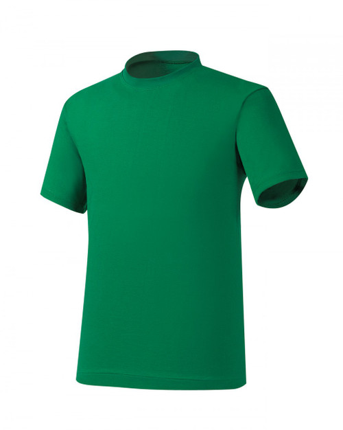 Bcpolo Green Round T-Shirt Cotton Crew Neck T-Shirt Basic T-Shirt short sleeves