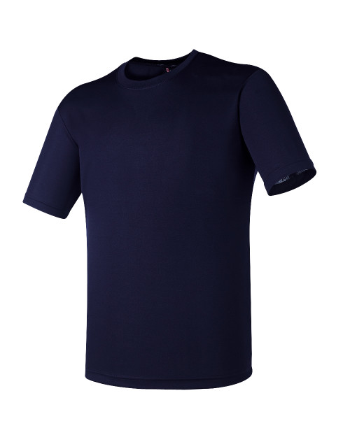BCPOLO Navy DRI FIT Round T-Shirt