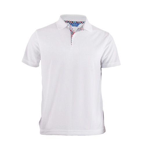 BCPOLO BASIC SHORT SLEEVE WHITE SHIRT CASUAL POLO SHIRT
