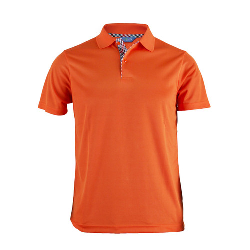 BCPOLO BASIC SHORT SLEEVE ORANGE SHIRT CASUAL POLO SHIRT