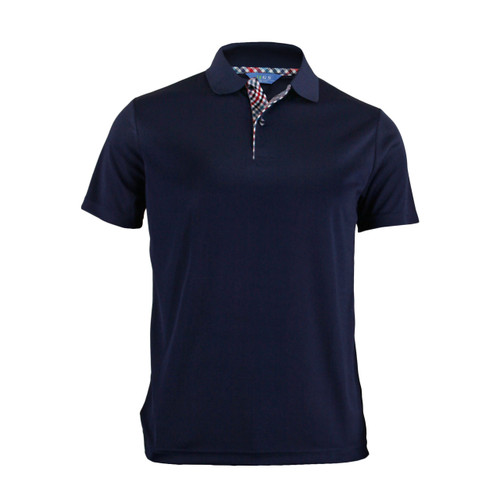 BCPOLO BASIC SHORT SLEEVE NAVY SHIRT CASUAL POLO SHIRT