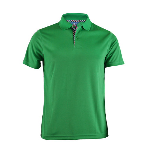 BCPOLO BASIC SHORT SLEEVE GREEN SHIRT CASUAL POLO SHIRT
