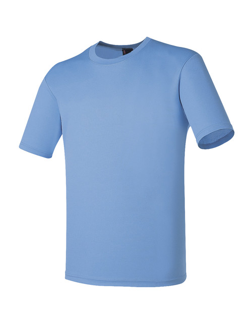 Bcpolo Round T-Shirt Crew Neck T-Shirt DRI FIT Sky-Blue Round T-Shirt for your style.
