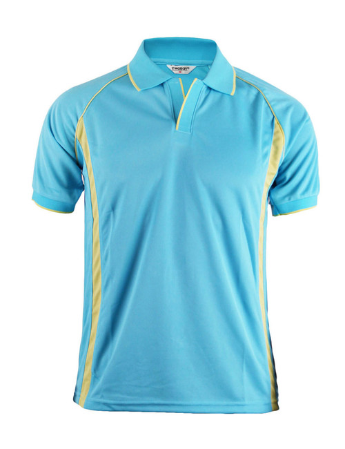 NEW POLO SHORT SLEEVES SHIRT 4 COLOR/BLUE
