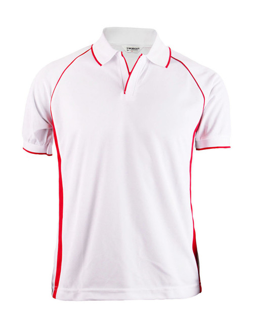 NEW POLO SHORT SLEEVES SHIRT 4 COLOR/WHITE