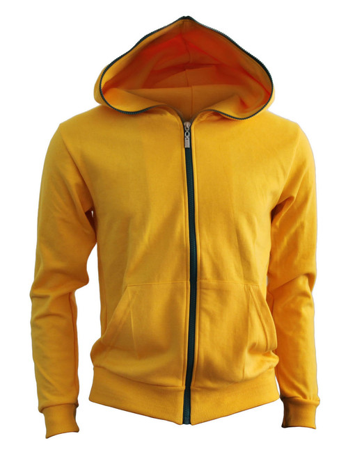 BCPOLO Cotton Full Zip-up Hoodie_YELLOW