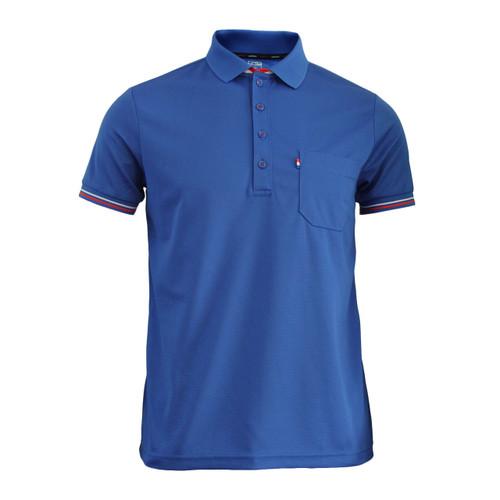 BCPOLO New Summer Golf Wear Short Sleeve Polo Shirt_BLUE
