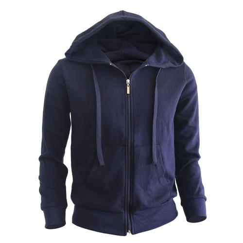 zip hoodie Navy hoodie Plain Solid zip up hoodie