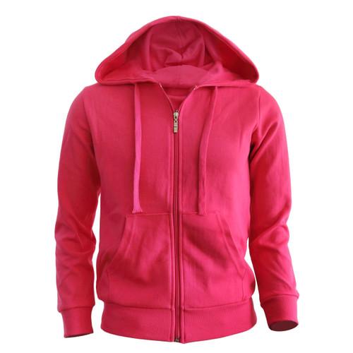 zip hoodie Hot pink hoodie Plain Solid zip up hoodie