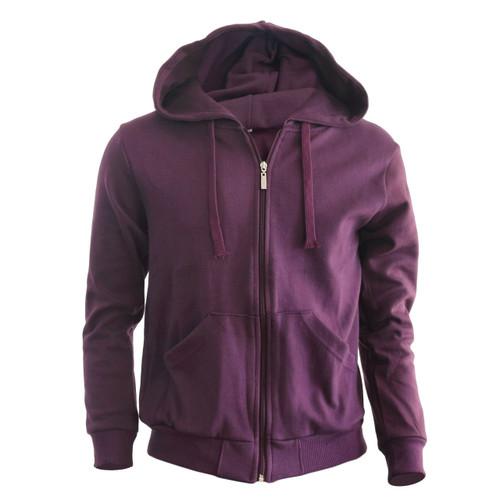 Bcpolo zip hoodie Purple hoodie Plain Solid zip up hoodie