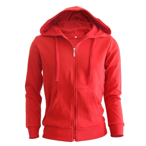 Bcpolo Zip hoodie Red hoodie Plain Solid zip up hoodie