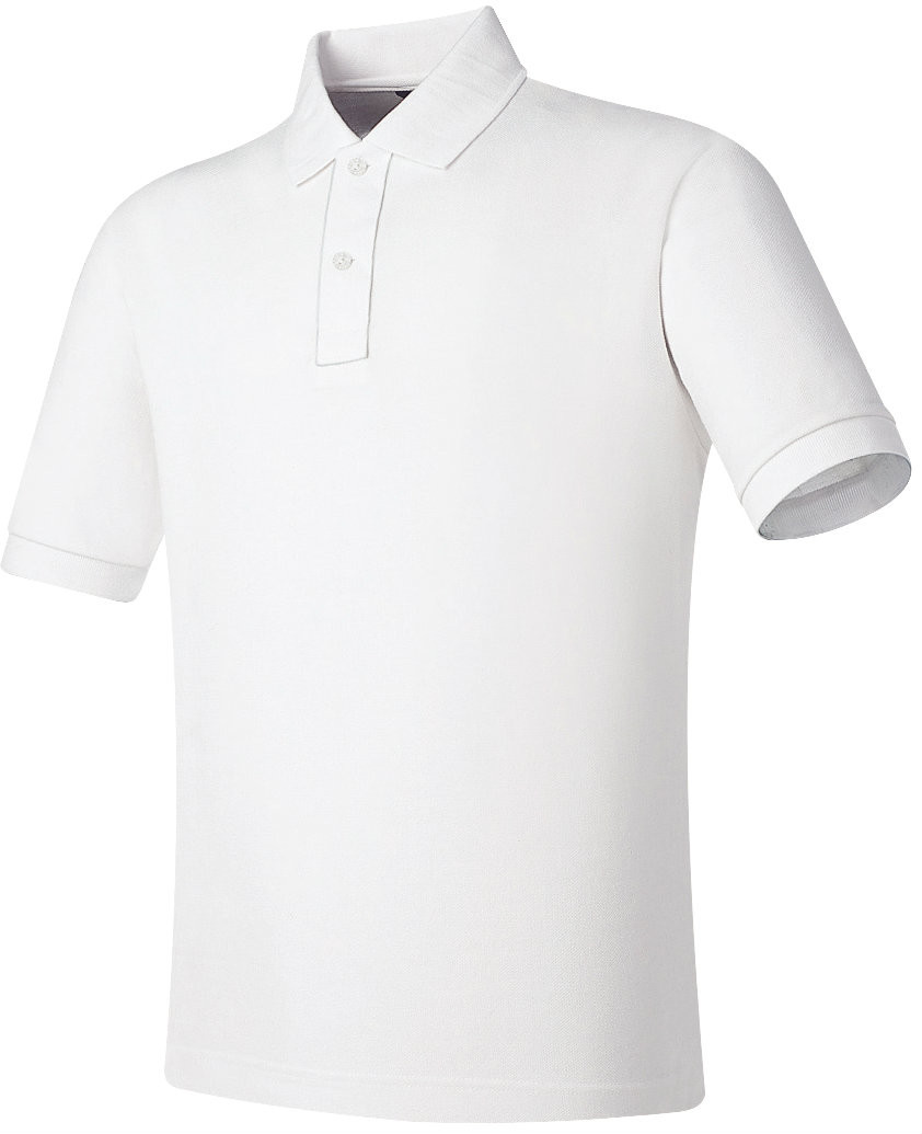 Home T-SHIRTS POLO T SHIRTS Short Sleeve White Cotton P.K Polo shirt