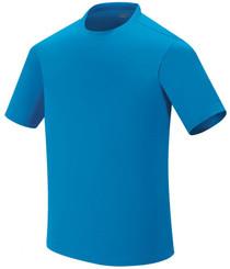 Spandex round  t-shirt-light_green
