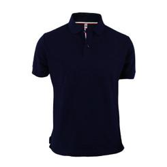 Men's Polo Shirt Navy Polo Shirt Cotton Polo Shirt Short Sleeves Polo Shirt