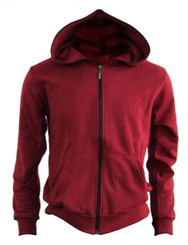 BCPOLO Cotton Full Zip-up Hoodie_WINE