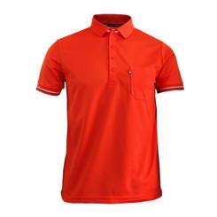 BCPOLO New Summer Golf Wear Short Sleeve Polo Shirt. 4 Color / SCARLET
