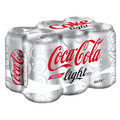 Coco Cola Light 6 Pack (355ml/12 oz)