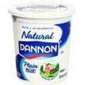 Danone/Yoplait Natural Yogurt (125 ml/4.4 oz single serving)