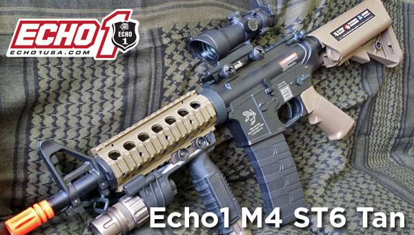 Echo1 ST6 M4 Tan 2-Tone AEG