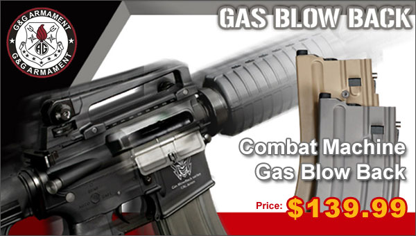 Combat Machine Gas Blowback