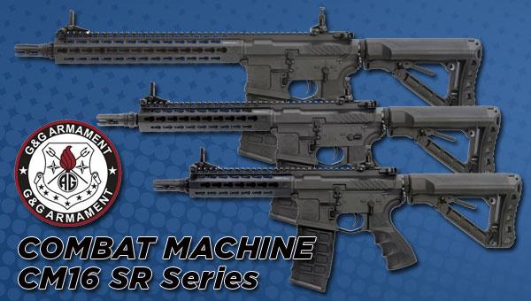 g&g combat machine cm16 sr series