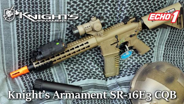 Knights Armament SR-16E3 CQB Mod2 Tan