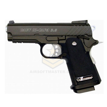 "WE Tech 3.8"" Baby HI-CAPA Airsoft GBB Pistol"