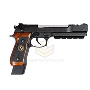 WE Tech Barry Burton Biohazard M9 Custom Semi/Full Auto GBB Pistol