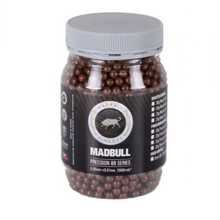 Madbull .36 Grams Sniper Grade BB Brown 2000 BBs