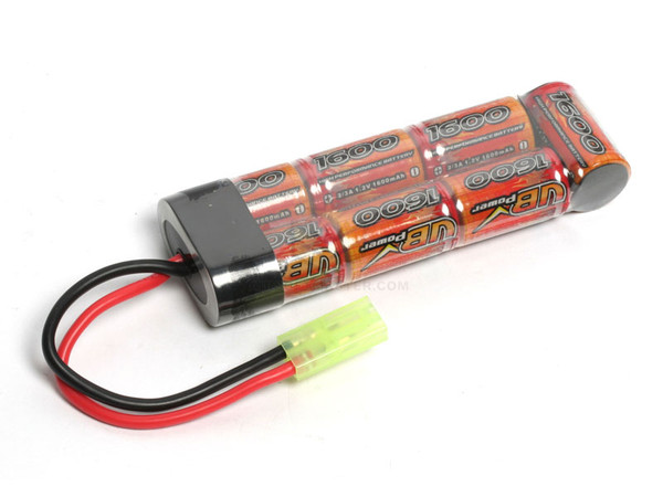 G&G 8.4V 1600MAH NIMH Battery Mini Battery