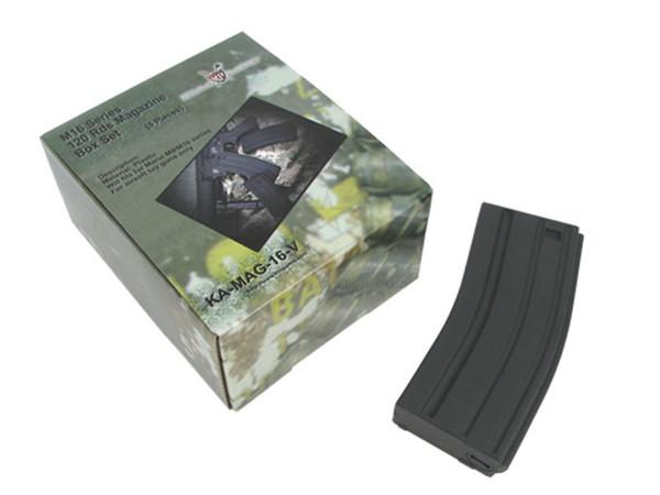 King Arms M4 Mid-Cap Magazine Box Set of 5