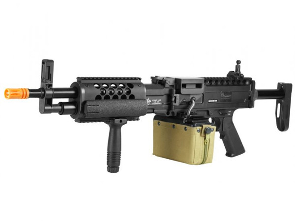 Knights Armament Stoner LMG Full Metal Airsoft Gun